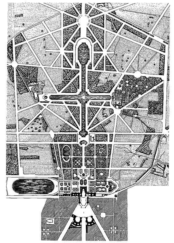 Рисунок 9 – Версаль. Схема